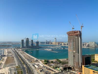 2 Bedroom Flat for Rent in Dubai Marina, Dubai - Full Sea View | Bright Layout | Kitchen Equipped