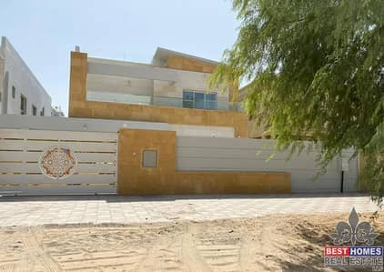 5 Bedroom Villa for Rent in Al Mowaihat, Ajman - Brand New Villa with already Installed AC and Maid Room