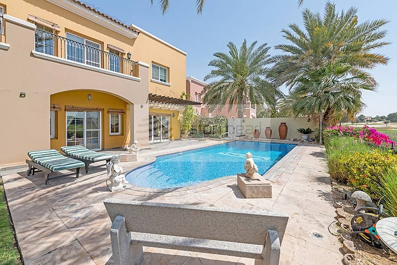 1 Stunning Type 13 Villa | Situated On Golf Course