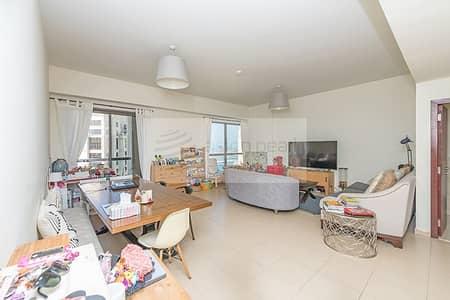 Sea and Marina View | 2 BR + Study | On High Floor