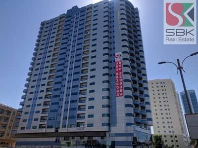 فلیٹ 2 غرفة نوم للايجار في كورنيش عجمان، عجمان - 2 BHK Apartments with Balcony Available in Ajman Corniche, Ajman