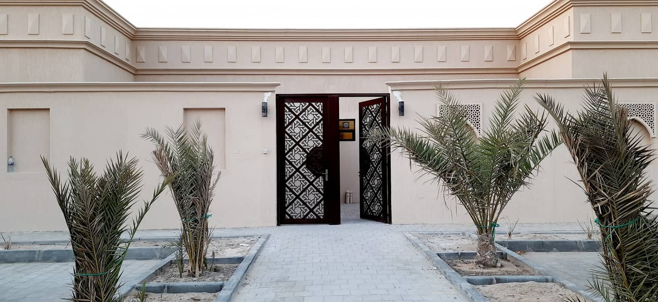 MOLHAQ WITH SEPARATE ENTRANCE 3 BEDROOMS WITH MAIDS ROOM AVIALABLE AT MBZ CITY.