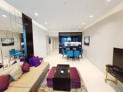 3 Bedroom Apartment for Rent in Downtown Dubai, Dubai - Exclusive High Floor | 3 BHK | Fully Furnished