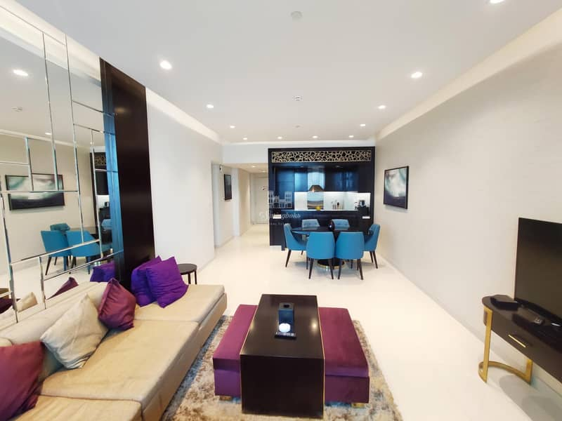 Exclusive High Floor | 3 BHK | Fully Furnished