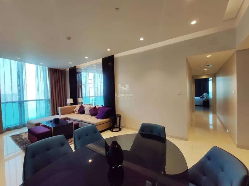 2 Exclusive High Floor | 3 BHK | Fully Furnished