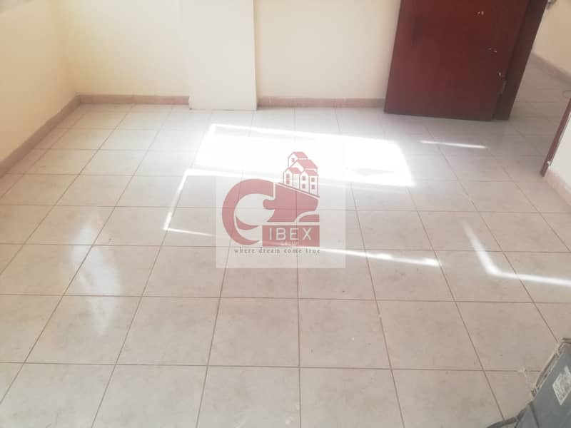 11 very prime locutation 1bhk just 16k very neat and clean building high maintinance in muwalileh sharjah