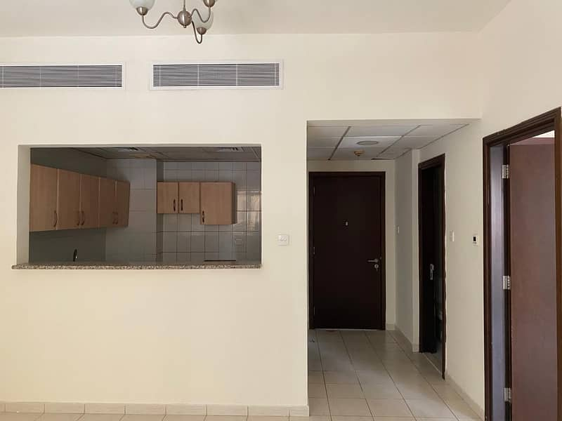 1BHK  with balcony in  Spain cluster Net to owner 320000