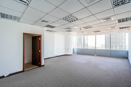 Office for Rent in Jumeirah Lake Towers (JLT), Dubai - Fitted Office | Open Plan Layout | Vacant