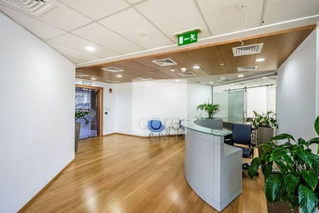 Office for Rent in Barsha Heights (Tecom), Dubai - Fitted Office | 15 Parking Slots | High Floor