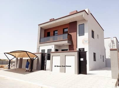 4 Bedroom Villa for Sale in Al Yasmeen, Ajman - Central air-condition villa for sale with attractive specifications, wonderful design, super duplex finishing, with the possibility of bank financing