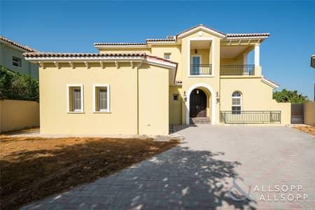 فیلا 4 غرف نوم للايجار في عقارات جميرا للجولف، دبي - Four Beds | Private Pool | Big Corner Plot