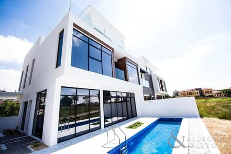 3 Bedroom Townhouse for Sale in Jumeirah Golf Estate, Dubai - New Listing - Remodelled T2 - Park View