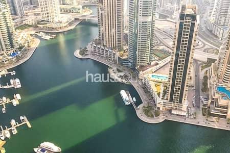 فلیٹ 3 غرف نوم للبيع في دبي مارينا، دبي - Full Marina Views | No Fees | 3 Years Payment Plan