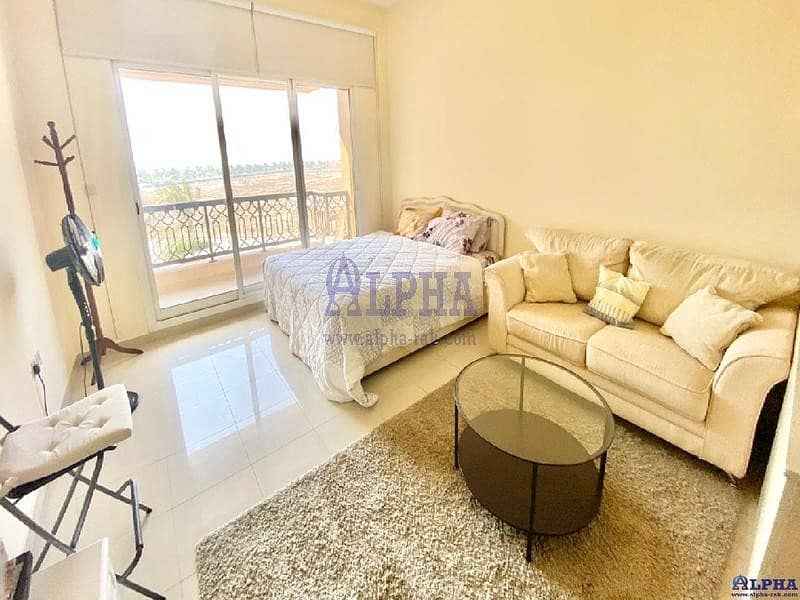 Partly Sea View | Furnished Studio Apartment