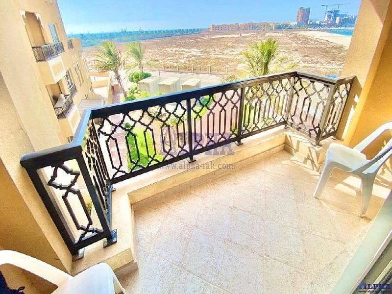 2 Partly Sea View | Furnished Studio Apartment