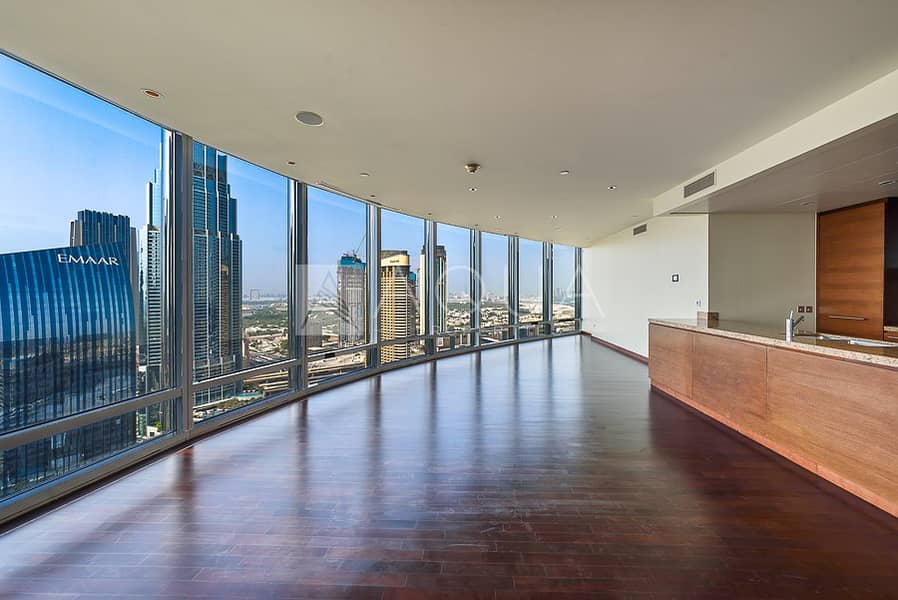 Panoramic view   3 BR with Maids & Study