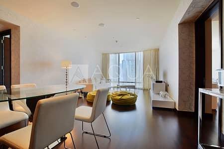 Mid Floor | 2 Beds + Study | Burj Khalifa