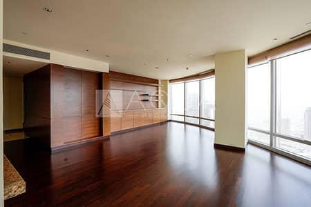 شقة 2 غرفة نوم للبيع في وسط مدينة دبي، دبي - High Floor   Unfurnished   Well Maintained