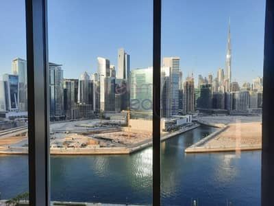 2 Bedroom Apartment for Rent in Business Bay, Dubai - Specious Two Bhk| Burj Khalifa View |maid Room