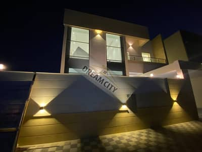 5 Bedroom Villa for Sale in Al Yasmeen, Ajman - For the owners of luxury and distinction, a luxury villa, European-style finishing, a very large building area, freehold all nationalities, without down payment