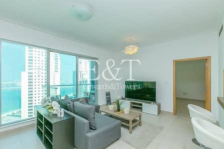 شقة 1 غرفة نوم للبيع في دبي مارينا، دبي - Tenanted | High Floor | Great Investment