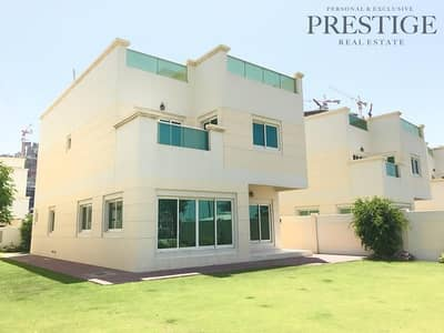 4 Bedroom Villa for Sale in Jumeirah Village Circle (JVC), Dubai - Spacious & Large |Unfurnished Villa | 4 BR + Maid Villa