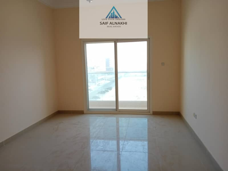14 HOT OFFER VERY HUGE ELEGANT 1BHK APARTMENT AT GOOD LOCATION & GOOD VIEW IN UNIVERSITY AREA NEW MUWAILEH