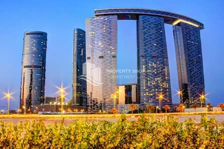 1 Bedroom Flat for Sale in Al Reem Island, Abu Dhabi - Excellent Apt on High floor with High ROI!
