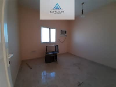 1 Bedroom Flat for Rent in Muwaileh, Sharjah - 1bhk in just 15k with ac window in national paint muwaileh