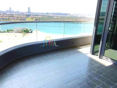 3 Bedroom Flat for Rent in Al Reem Island, Abu Dhabi - Perfectly Full Sea View 3 BR with Maids Room