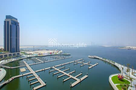 3 Bedroom Apartment for Rent in The Lagoons, Dubai - Genuine Listing  Full Creek And Burj View