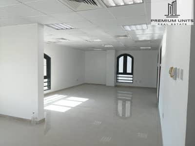 مکتب  للايجار في شارع المطار، أبوظبي - NO COMMISSION - NEW Office for rent with excellent price NO COMMISSION (Airport street)