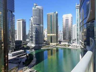 فلیٹ 1 غرفة نوم للايجار في أبراج بحيرات الجميرا، دبي - Chiller free 1 BR in Concorde JLT