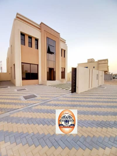 3 Bedroom Villa for Sale in Al Yasmeen, Ajman - Central air-condition villa for sale with attractive specifications, wonderful design, super duplex finishing, with the possibility of bank financing