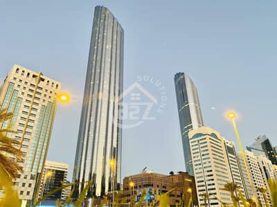 3 Bedroom Flat for Rent in Corniche Area, Abu Dhabi - 3 BR in  WTC with NonCommission