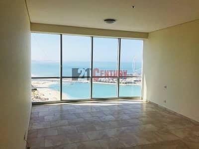 فلیٹ 3 غرف نوم للايجار في جميرا بيتش ريزيدنس، دبي - Bright Spacious 2 BR+Maids Panoramic Sea View