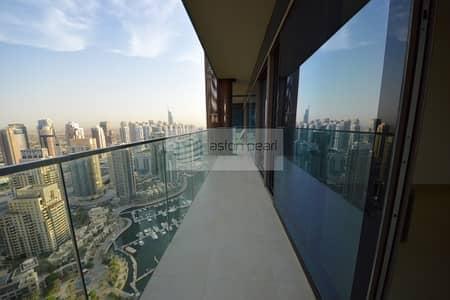 فلیٹ 2 غرفة نوم للبيع في دبي مارينا، دبي - 2BR Best Layout | Marina/Golf Course View | Vacant