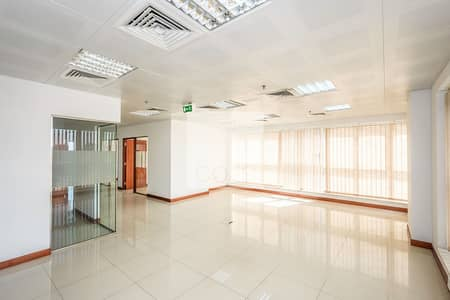 Office for Rent in Al Salam Street, Abu Dhabi - Fitted Office | Prime Location | Mid Floor