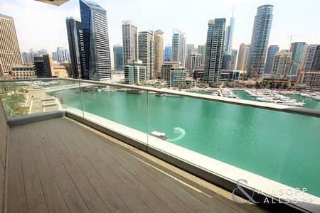 فلیٹ 3 غرف نوم للايجار في دبي مارينا، دبي - Fully Upgraded | 3 Bed + M | Marina Views
