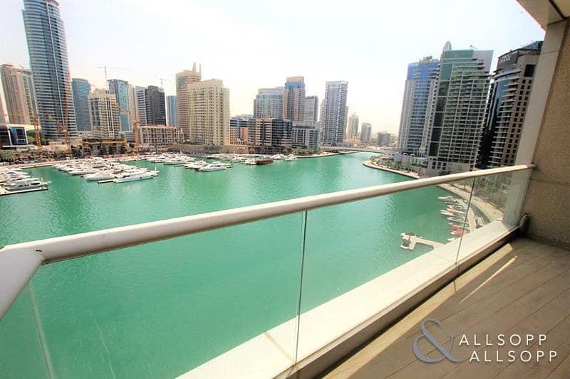 10 Fully Upgraded | 3 Bed + M | Marina Views