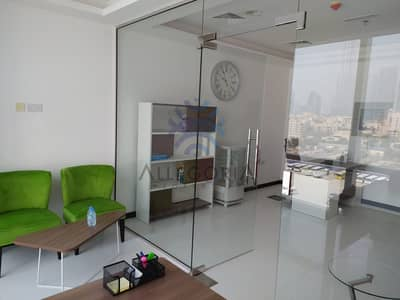 Office for Sale in Business Bay, Dubai - Fitted and  Furnished Rented  With  7%  ROI