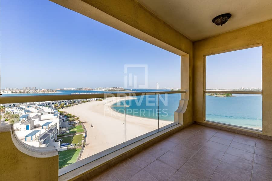 Best 2 Bed plus Maids room with Sea View