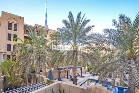 2 Bedroom Apartment for Rent in Old Town, Dubai - Burj and Pool Views | Chiller Free | Immaculate