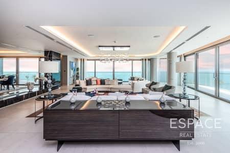 بنتهاوس 3 غرف نوم للبيع في نخلة جميرا، دبي - Full Sea View Top Quality Luxurious   3 Bed Penthouse