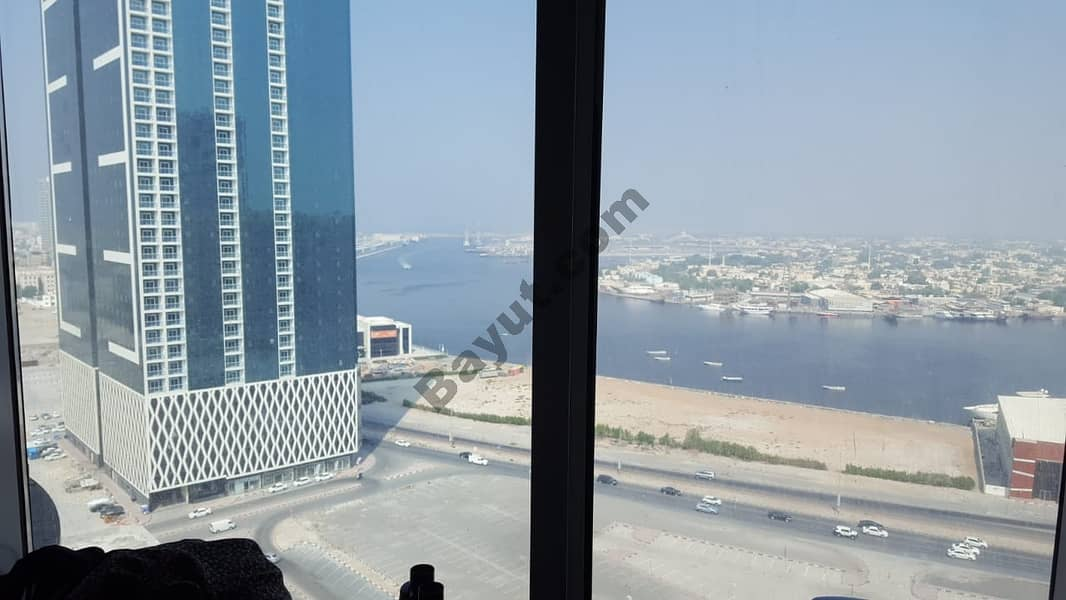 AMAZING DEAL !!!! SEA VIEW 3BHK AVAILABLE FOR SALE IN AL KHOR TOWER , AJMAN