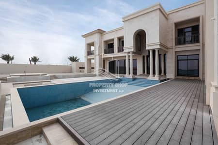 فیلا 6 غرف نوم للبيع في جزيرة السعديات، أبوظبي - Prestigious Special Design Villa with Huge Plot On Mangrove!