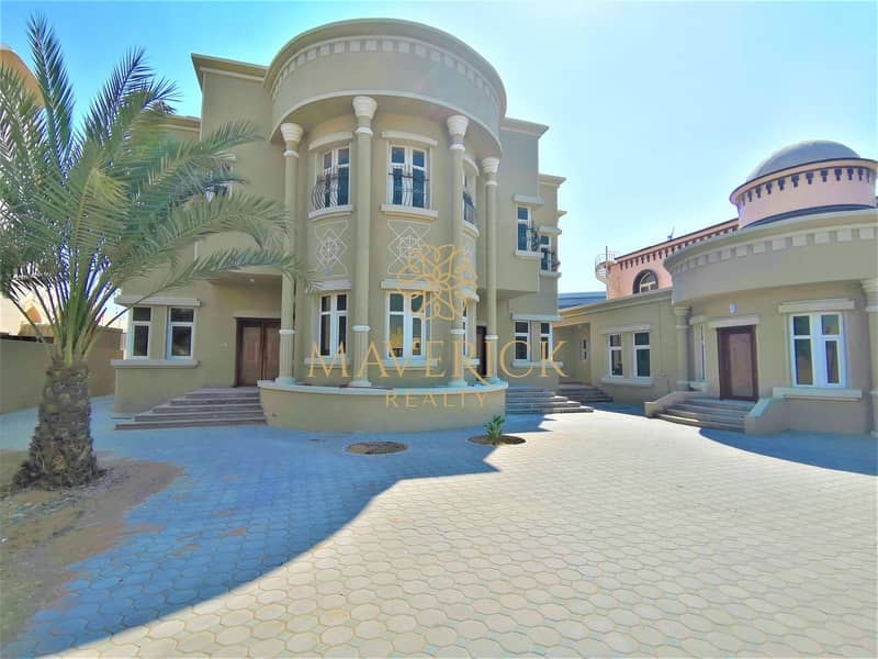 Lavish 6BR Villa | Huge Compound | All Master/R