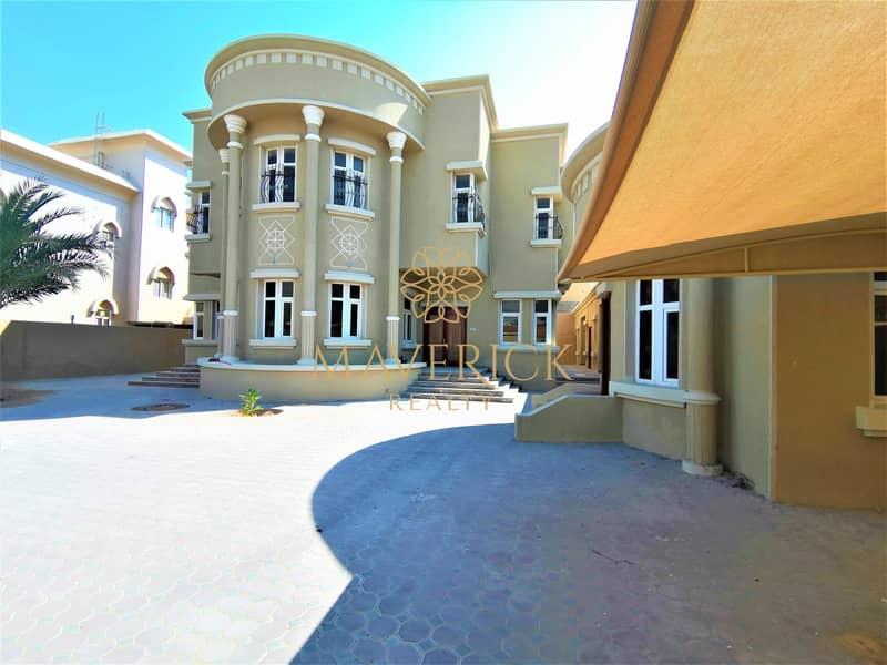 13 Lavish 6BR Villa | Huge Compound | All Master/R
