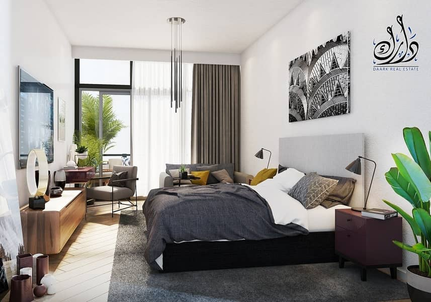 16 Furnished Studio I 6 Years Payment Plan I3500 AED Monthly