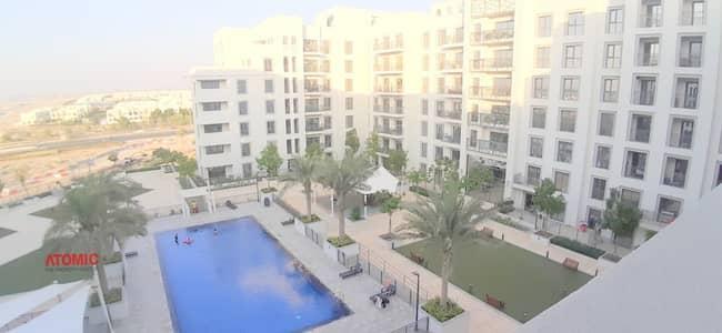 فلیٹ 3 غرف نوم للايجار في تاون سكوير، دبي - SPACIOUS LAYOUT AND SIZE ! 3BHK + MAID ROOM !! TOWNSQAURE-ZAHRA APARTMENTS